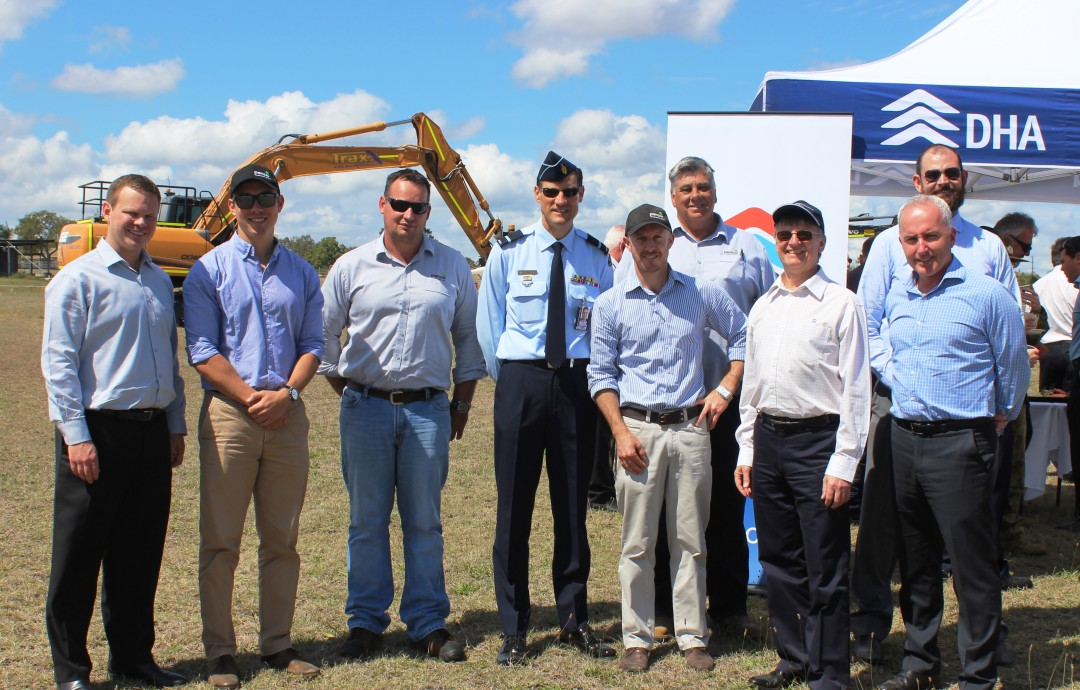 Sod Turning Ceremony – Canterfield
