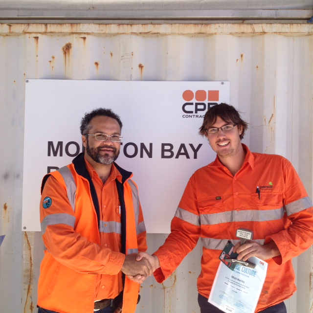 CPB Safety Award Recipients Mitchell Hobbs and Michael Sampson