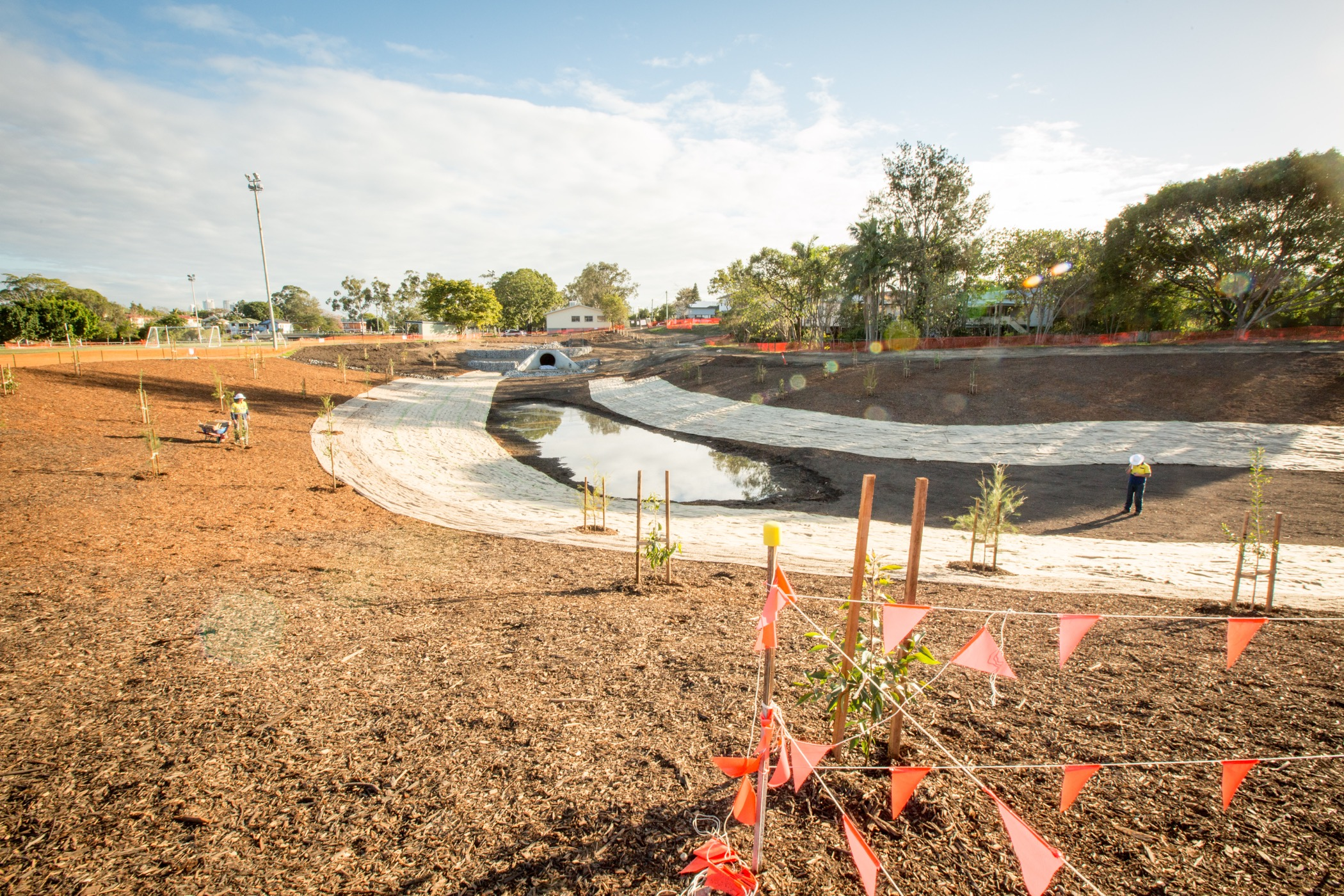 Brisbane City Council Stormwater Harvesting Project