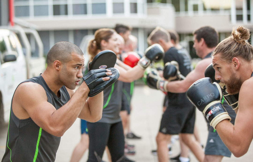 Boxing our way to improved team performance