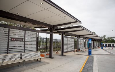 Helensvale Rail Station Bus Interchange