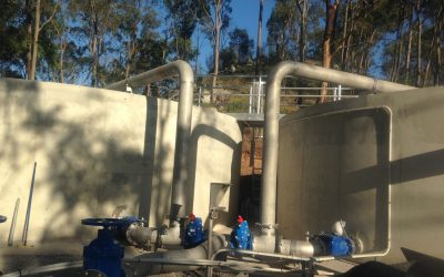 Mt Crosby East Bank Water Treatment Plant Elevated Tanks