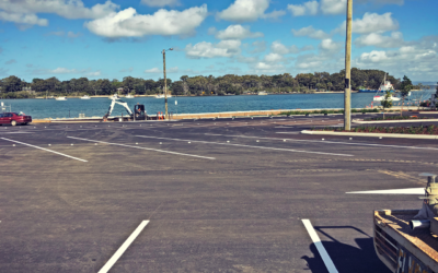 Pensar Delivers New Marine and Car Park Facilities for Macleay Island