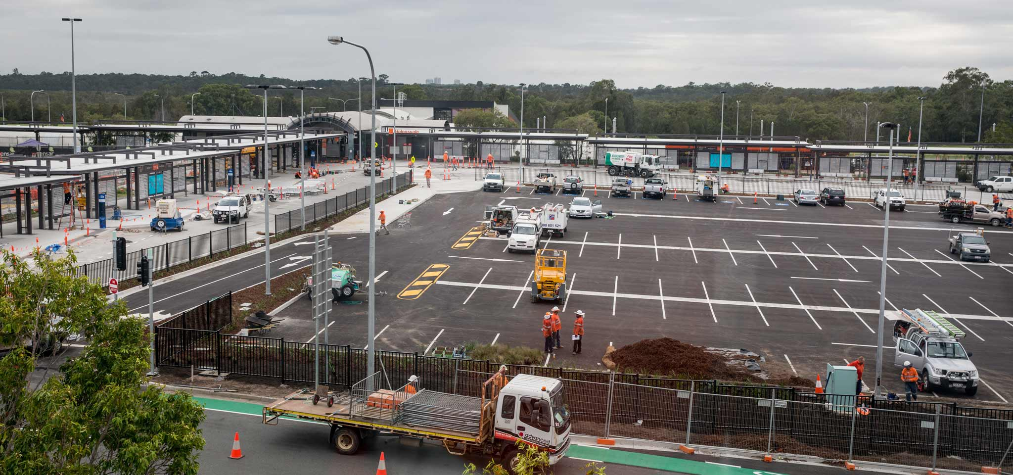 Helensvale Station Bus Facility Opens to the Public