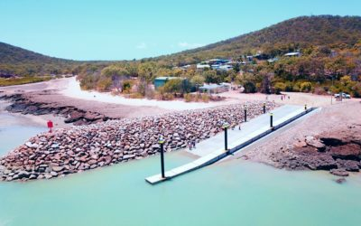 Stanage Bay Boat Ramp & Floating Walkway