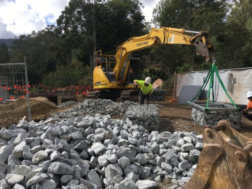 Canungra Erosion and Stairwell Access Upgrade