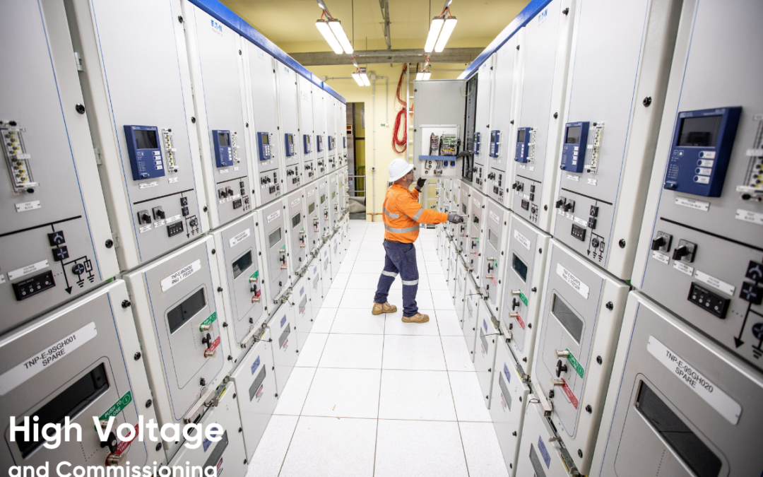 Specialists in High Voltage and Commissioning Works